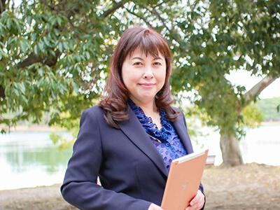 研修事業を運営するスタイルフィットの代表取締役 浦岡 香